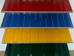 Профнастил цветной оцинкованный на забор от завода