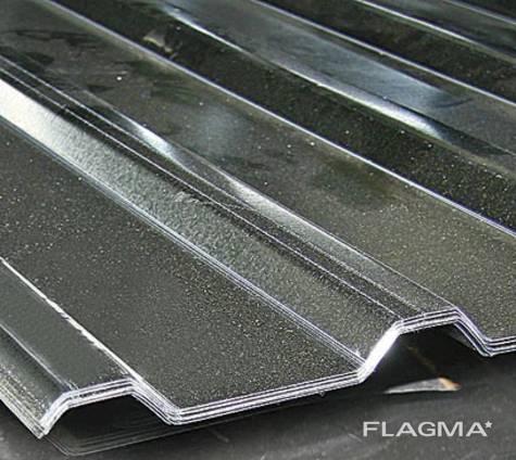 Профнастил оцинкованный стальной, профнастил метал. купить
