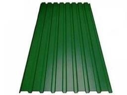 Профнастил ПС-10 0,96 X 2,0 М 0,35мм 6005 (Зеленый)