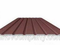 Профнастил Rantech стеновой T 15, 0, 45 мм коричневый RAL. ..