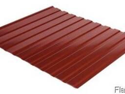 Профнастил стеновой С-10 RAL 3011 (коричневый) PE 0.45