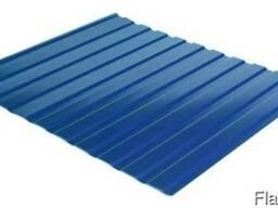 Профнастил стеновой С-10 RAL 5005 (синий) PE 0.45