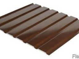 Профнастил стеновой С-18 RAL 8017 (коричневый) PE 0.45