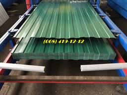 Зеленый профнастил, Проф лист 6005, зеленый забор