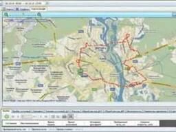 Программное обеспечение GPS мониторинга и контроля топлива