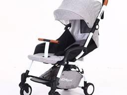 Прогулочная детская коляска YOYA Care X6 Premium серая