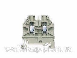 Проходные винтовые клеммы для DIN рейки 35 мм WT 2,5(серый)