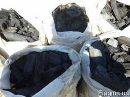 Древесный уголь дуб, берёза, клён, ясень