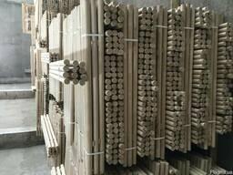 Производим и продаём черенки для лопат из разных пород дерев