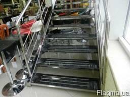 Производим ограждения, мебель, лестницы изделия из нержавеющ