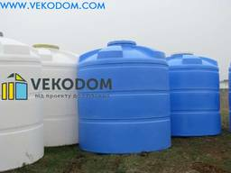 Емкости для воды пластиковые 1000,1500,2000,5000,10000 цена
