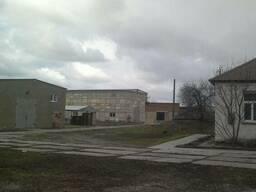 Производственный комплекс 2381 м2 ЖД ветка Харьковская обл.