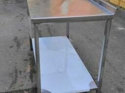 Производственный стол из нержавейки продам бу - фото 1