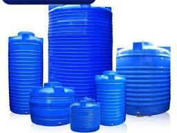 Баки для холодной воды с краном запаса подпиточной