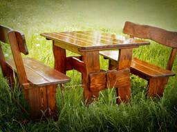 Производство мебели из натурального дерева для ресторана. ..