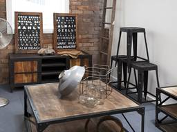 Производство мебели в стиле лофт индастриал