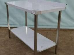 Производство столов из нержавейки. Заказ столов из нержавейк