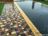 Плитка тротуарная от производителя бордюр водосток парапет - фото 2