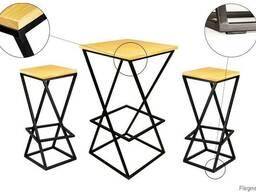 Прокат Аренда мебель в стиле Лофт LOFT