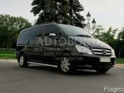 Прокат микроавтобуса Mercedes-Benz Viano black 6-7 пас.