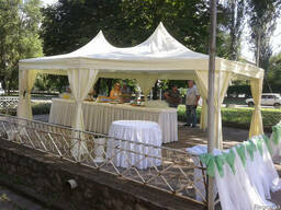 Прокат свадебных шатров в Днепропетровске.