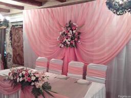 Прокат товаров для свадьбы, украшения для свадьбы