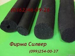 Прокладки резиновые пористые уплотнительные (гермит)