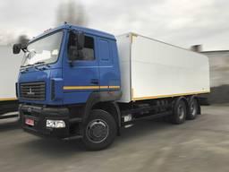 Промтоварный фургон на базе шасси МАЗ-6312С5