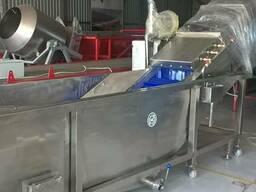 Промышленная моечная машина для ягод, фруктов, овощей грибов