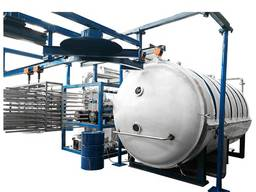 Промышленная установка для сублимационной сушки лиофилизатора LG-30 большого объема, 300 к