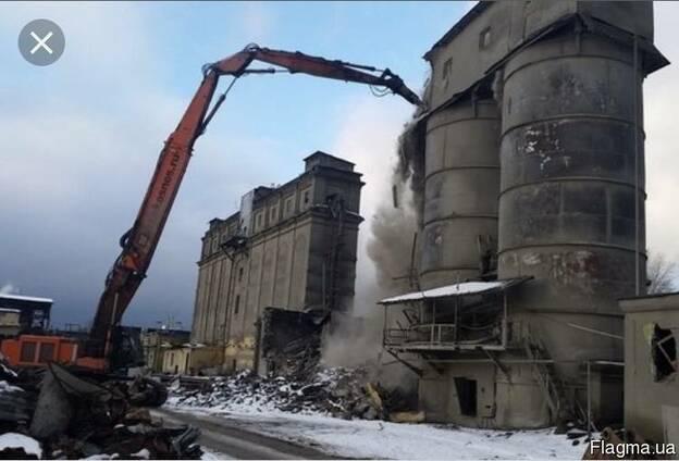 Промышленный демонтаж зданий .