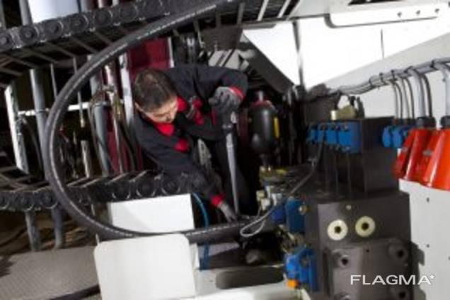 Промышленный монтаж шлангопровода