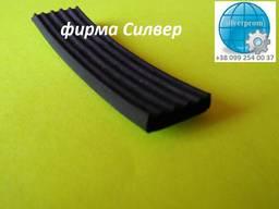 Ущільнювачі з пористої гуми 20х4 мм