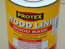 Пропитка грунтовочная для защиты древесины Wood Line Protex.