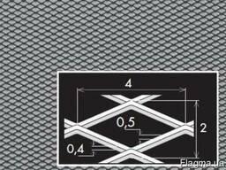 Просічно-витяжні листи TA MR4/2x0, 5x0, 4/1000