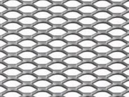 Нержавіюча сталь Перфорований лист TC MR16/8x1, 6x1/1000x20