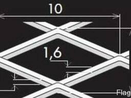Просічно-витяжні листи TC MR10/5x1,6x1/1000x2000