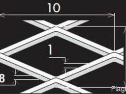 Просічно-витяжні листи TH MR10/5x1x0,8/1000x2000