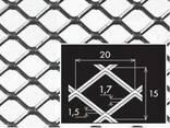 Просічно-витяжний лист нержавіючий 1,5х1000х2000 мм - фото 1