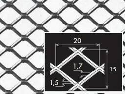 Просічно-витяжний лист нержавіючий 1,5х1000х2000 мм