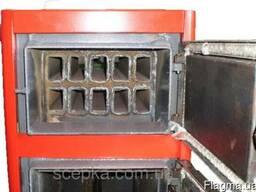 Котел на твердом топливе Проскуров 30 кВт. Сталь 4-6 мм.