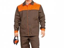 Простой и экономичный мужской рабочий костюм