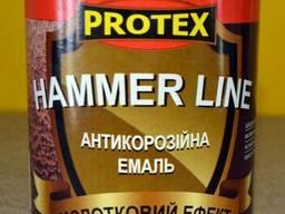 Protex эмаль молотковая Hamer Line (0. 7 л)