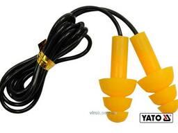 Протишумові беруші YATO : 22 дБ, силіконові, 50 пар