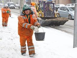 Противогололедный реагент, средство для уборки снега льда