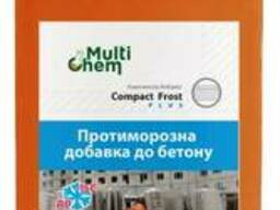 Противоморозная добавка для бетона, тротуарной плитки Compact Frost + Premium, 1 л
