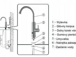 Проточный водонагреватель на столешницу Noveen IWH850 INOX