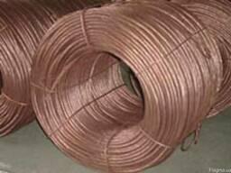 Провода биметаллические сталемедные ПБСМ-1 сеч 70мм2