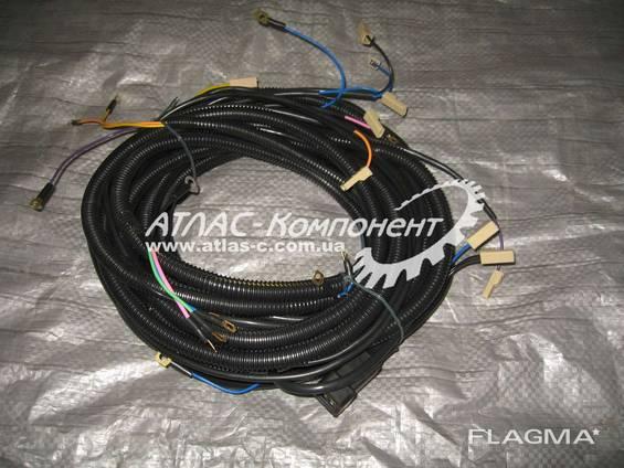 Проводка электрическая (комплект на раму) КрАЗ 250, 65101