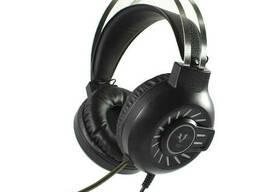 Проводные наушники с микрофоном Forev G10 2х3.5 мм + USB Black